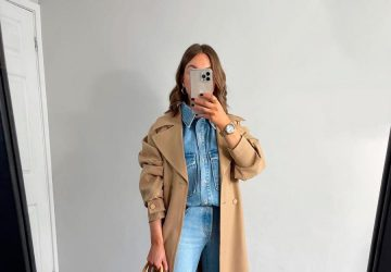 How To Wear Denim Shirt To Get That Look Of Ten - women style, women fashion, style motivation, style, fashion style, fashion, denim shirt