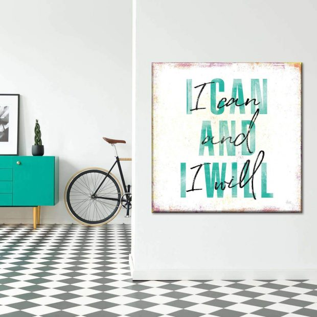 Motivational Wall Art for Your At-Home Workout - wall srt, Quotes, motivationa, Lifestyle, ideas