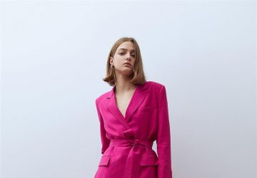 The Best Guest Look This Fuchsia Jacket Suit - women style, women fashion, style motivation, style, guest look, fucshia suit, fashion style, fashion