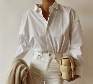 How To Combine A White Shirt? - women style, women fashion, white shirt, style motivation, style, fashion style, fashion, combinations with white shirts