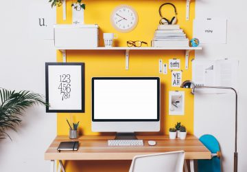 Tips to Create an Ideal Home Study Space - Space, productivity, light, home study