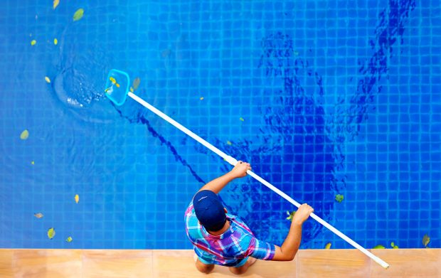 6 Maintenance Tips To Keep Your Pool Clean And Safe - tips, skim, scrub, safe, pool, maintain, experts, clean