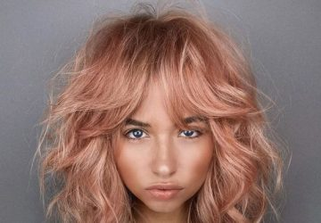 Discover The Soft Rose Gold Hair Color Which Will Be The Biggest Sensation During Summer - style motivation, style, soft rose gold, hair style, Hair, fashion, beauty tips, beauty