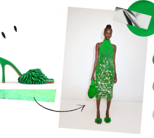 Why The Color Green Will Continue To Be The Trend In Bags And Shoes - style motivation, style & fashion, green color in shoes, green color in bags, fashion style, Bottega Veneta