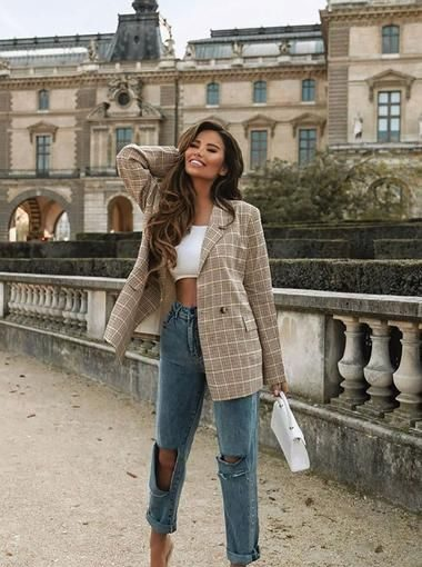 How To Wear A Blazer In Fine Weather According To The Latest Trends - style motivation, style, oversized blazer, fashion style, fashion, blazers, blazer outfits for a fine weather