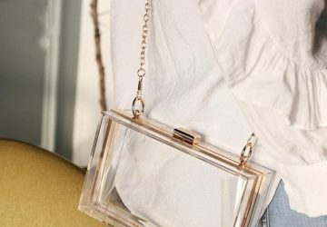 Transparent Bags Have The Potential to Become The Ultimate Trend This Summer - transparent bags, transparent bag styles, style motivation, style, fasjion style, fashion, Bags, bag style