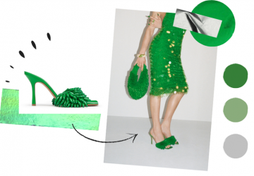 The Green Color Will Still Be Thriving in Bags And Shoes Trend - style motivation, style, green shoes, green color, green bags, fashion style, fashion motivation, fashion moments, fashion, Bottega Veneta