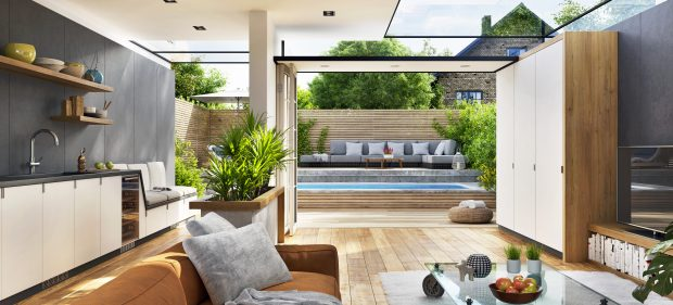 Why Outdoor Spaces Are One Of The Top Trends In Home Design Right Now - outdoors, landscape, family time, family