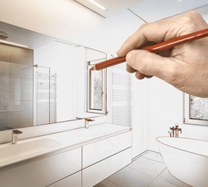 5 Easy Ways to Make a Bathroom More Comfortable and Inviting - tips, shower, renovation, bathrom