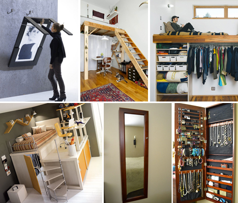 How to Tackle Space Problems if You Live in a Smaller Home - small space, small home, interior design, home, hacks