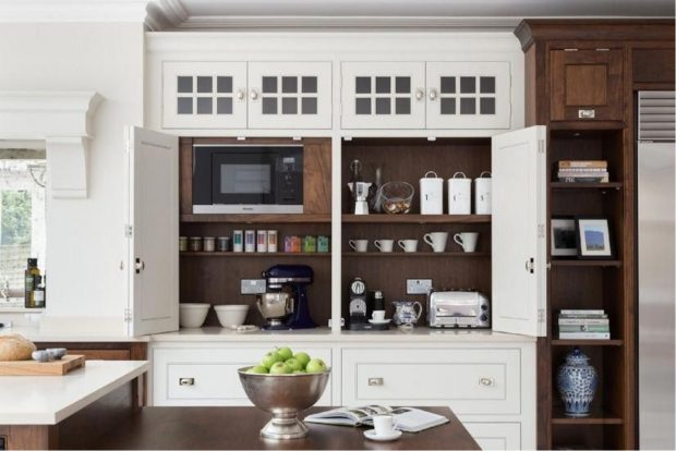 Coffee Station Ideas for Your Kitchen - kitchen, coffee station