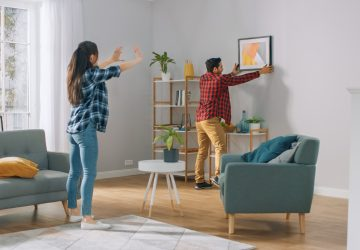 6 Easy And Affordable Ways To Spruce Up Your Apartment - wall, home, decals, apartments