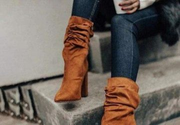The Kitten Heels Boots That Fashionistas Are Snapping Up This Season - style motivation, style, pleated boots, leopard boots, kitten heel boots, heel boots, fashion style, fashion, crocodile boots, cream thigh boots, cowvoy boots, boots