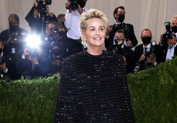 Met Gala '21 - Our Pick - Sharon Stone With The Most Surprising Outfit - style motivation, style, sharon stone, outfit, met gala 2021, glamorous outfit, fashion style, fashion icon, fashion, actress