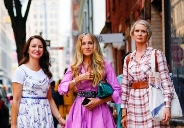 The Most Stylish Looks Spotted On The Set Of Sex And The City Reboot - stylish looks, style motivation, style, sex and the city style, fashion style, fashion
