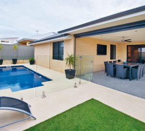 10 Tips to Make Your Liquid Limestone Pool Area Stand Out - waterfall, terraces, swimming pool, outdoors, landscaping, decorative, boundaries